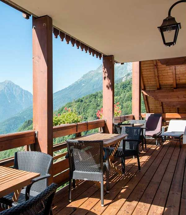 location chalet ete