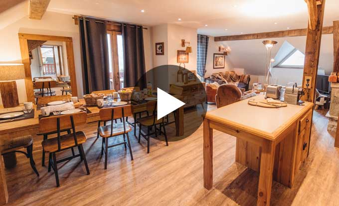 location appartement vaujany chamois video