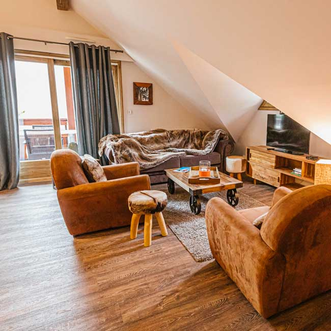 appartement vaujany edelweiss