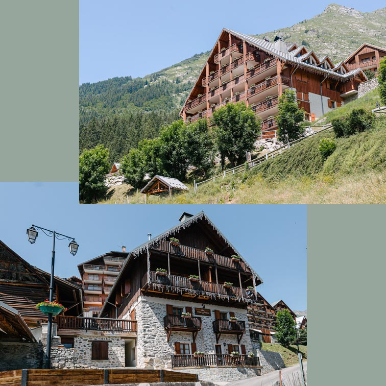 chalet vaujany appartements location ete